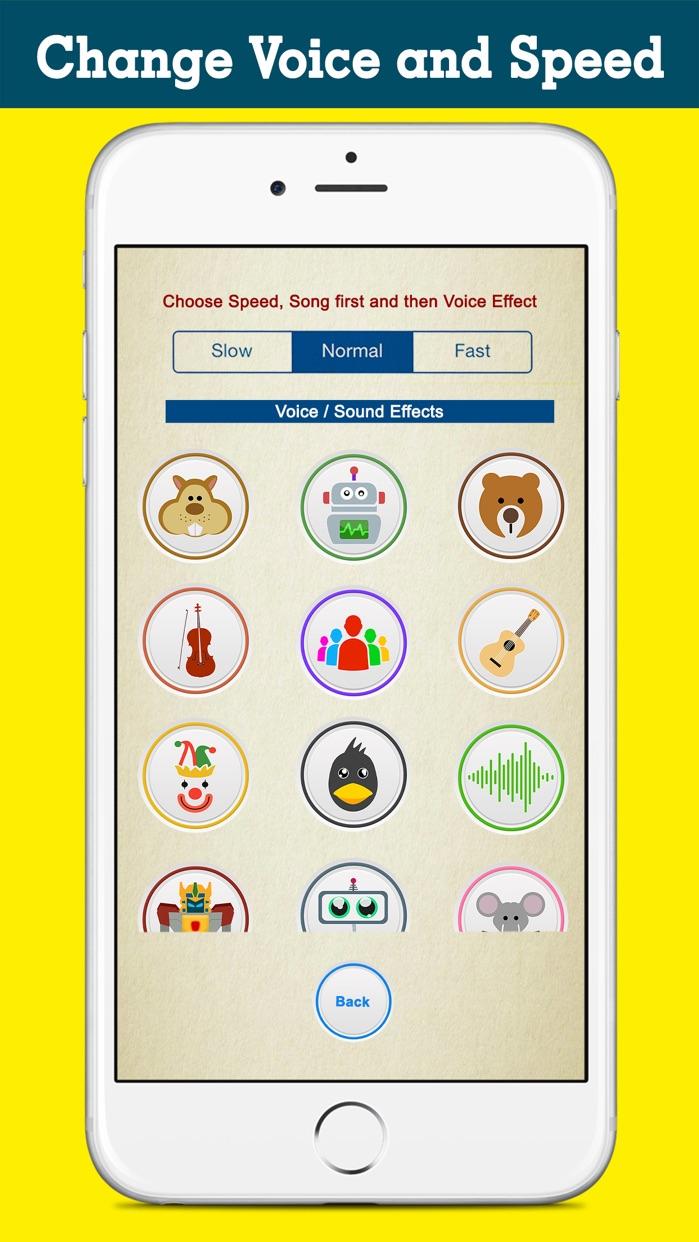 Crazy Helium Voice Changer Fun Screenshot