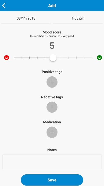 Mood Log - Track your Mood