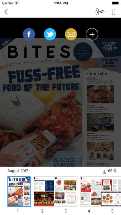 BiTES - The Scoop on Good Eats screenshot 2