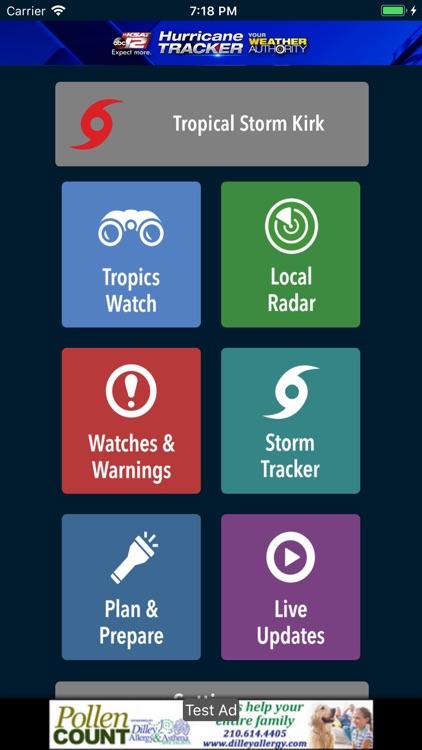 KSAT12 Hurricane Tracker screenshot-3