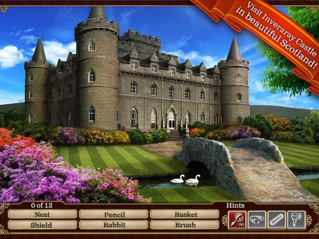 Hidden Objects: Gardens of Time Screenshot