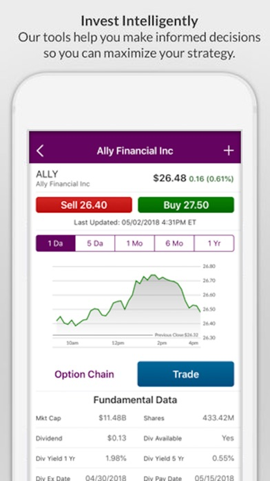Screenshot for Ally Mobile in United States App Store