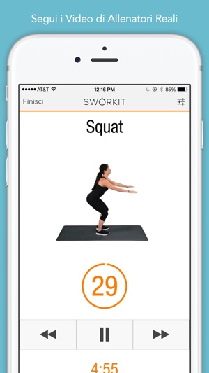 Sworkit - Personal Trainer Screenshot