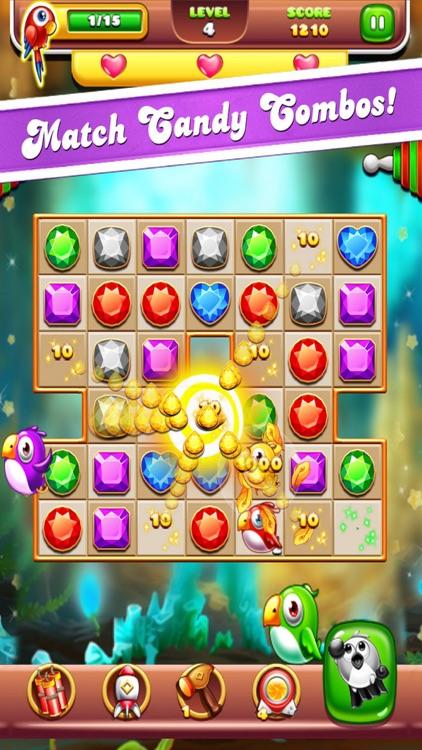 Smart Birdie Rescue - Match 3 screenshot-4