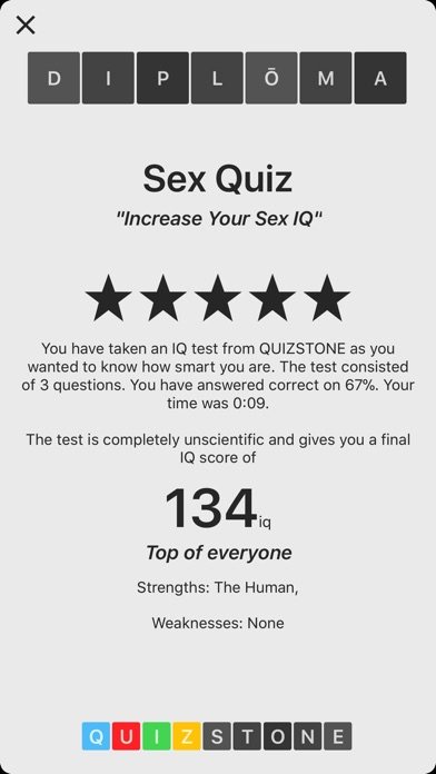Quiz with sex picture