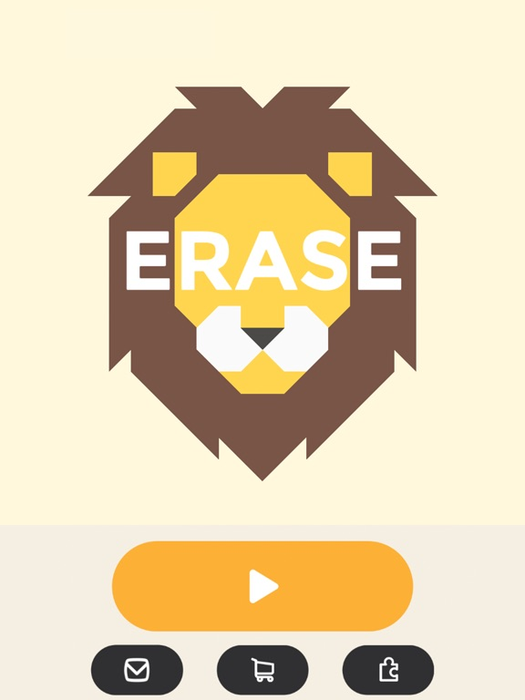 ERASE - coloring puzzle game на iPad