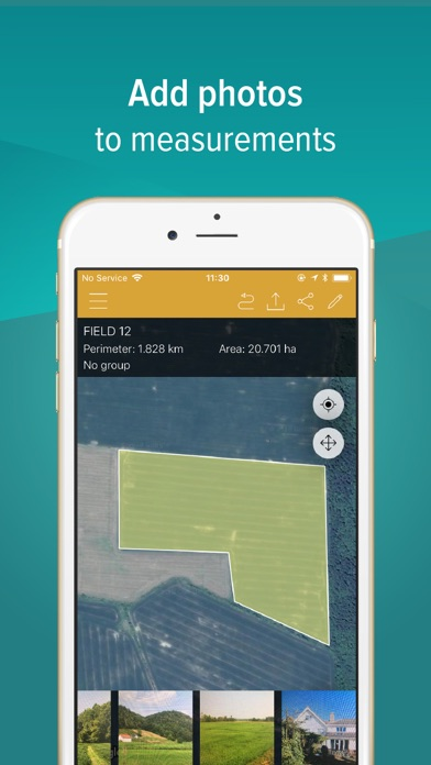 GPS Fields Area Measure for Pc - Download free Utilities app
