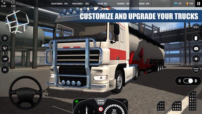 Truck Simulator PRO Europe Screenshot