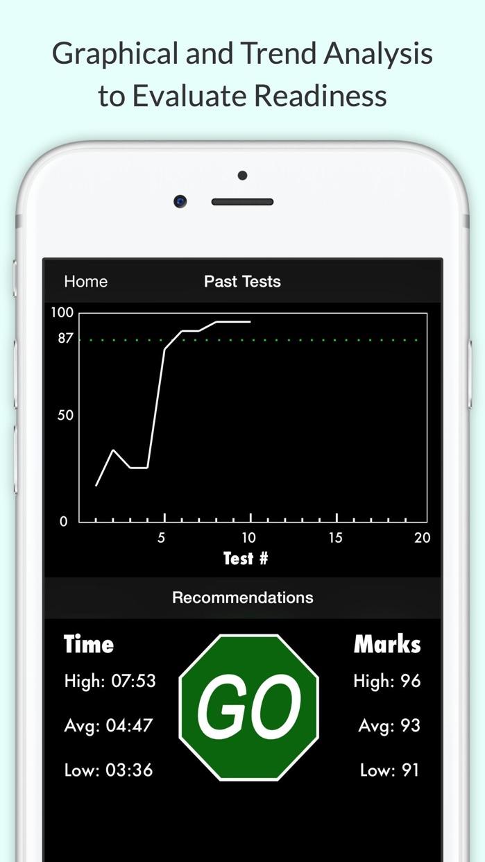 California DMV Test Screenshot