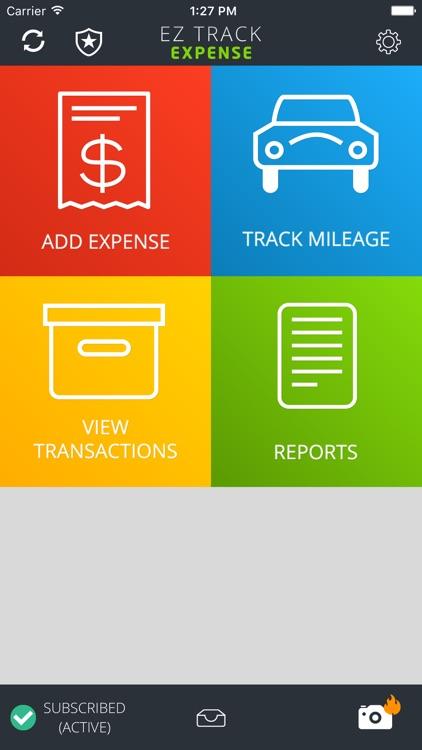 EZ Track Expense Reports