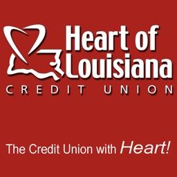 Heart of Louisiana CU Mobile Banking for iPad