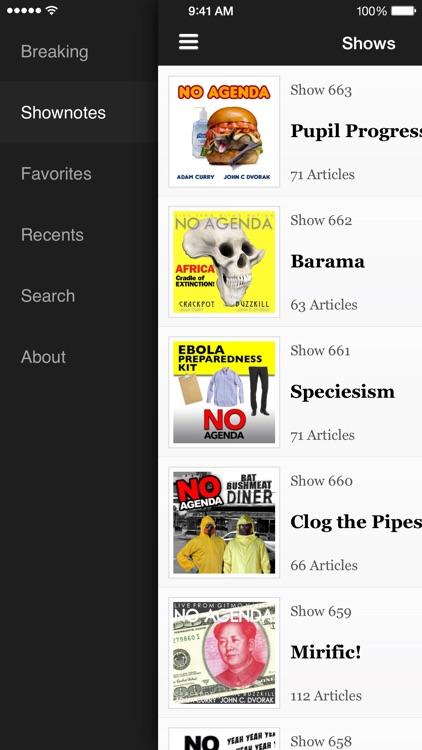 No Agenda News screenshot-3