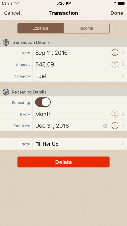 Spending Tracker screenshot-2