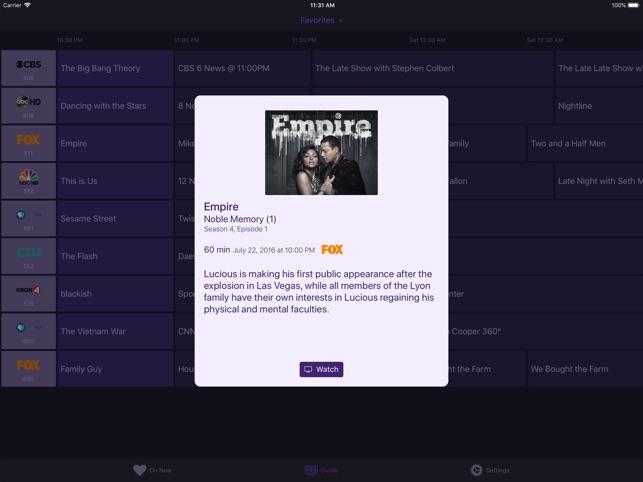 Channels ‒ Live TV Screenshot