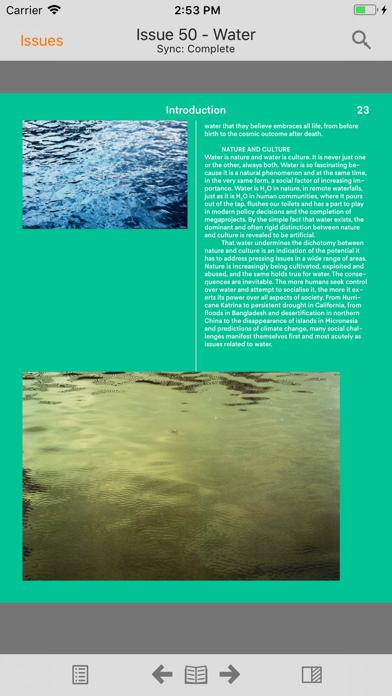 Foam Magazine screenshot 2