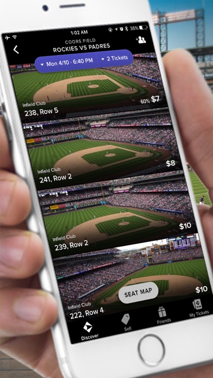 Gametime · Tickets to Sports, Concerts, & Theater screenshot-0