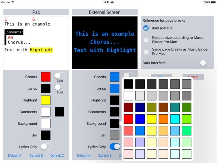 Music Binder (PDF & ChordPro) screenshot-5