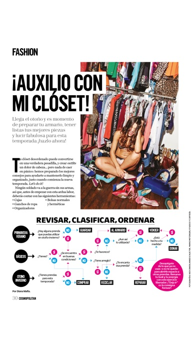 Screenshot for COSMOPOLITAN EN ESPAÑOL REVISTA in Ecuador App Store
