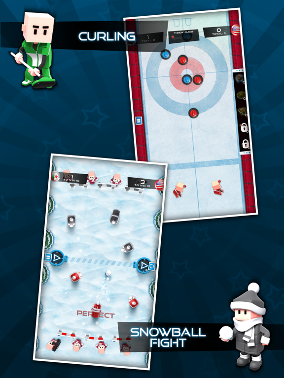Screenshot #6 pour Flick Champions Winter Sports