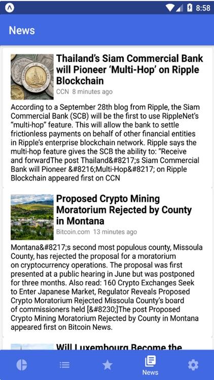 Cryptor - Crypto Coin Tracker screenshot-5