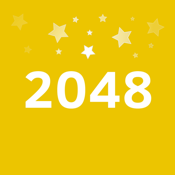 2048 Number Puzzle game + Best 2048 app with unlimited undo feature, 5x5 mode, time survival mode plus #1 multiplayer icon