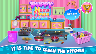 Puppy Home House Cleaning Screenshot