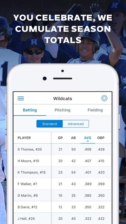 GameChanger Baseball Softball screenshot-4