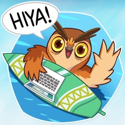 Freelance Owl! stickers