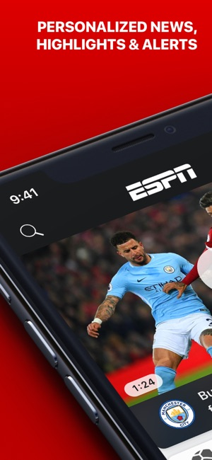 Espn Sports News Highlights On The App Store