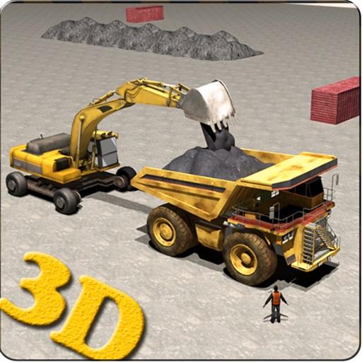 Offroad Construction Crane 3d