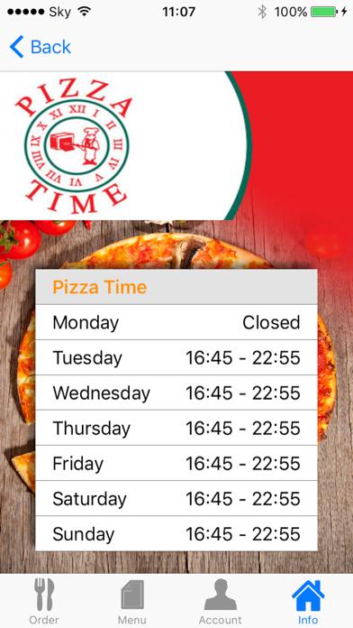 Pizza Time Antrim screenshot four