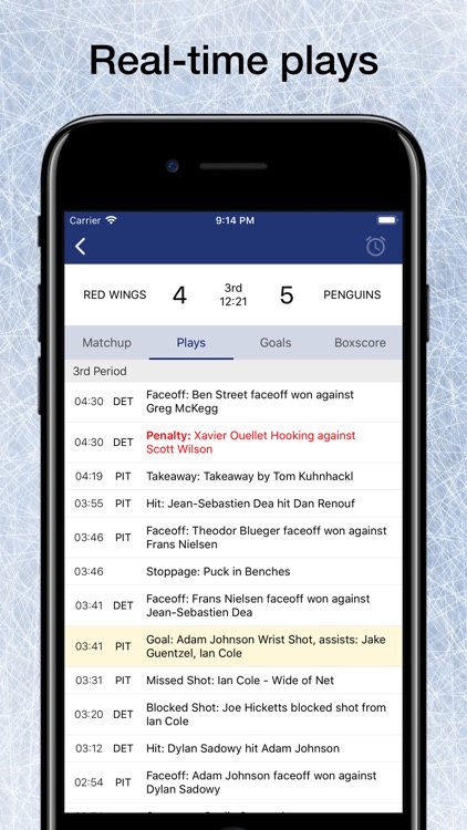 Pro Hockey Schedule for NHL