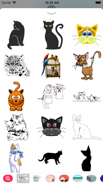 Cat Stickers 2 - 2018