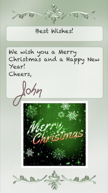 Christmas Cards • Greeting screenshot-3