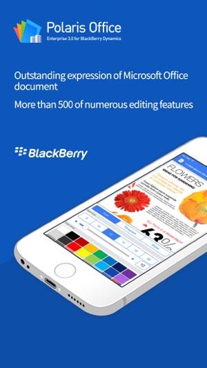 POLARIS Office for BlackBerry on the App Store