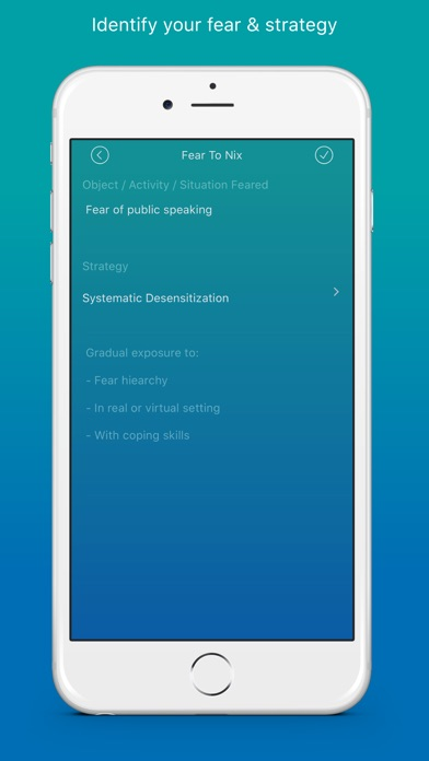 Fear Nix : Phobias & Anxiety screenshot 1