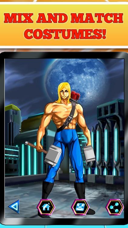 Create Your Own Superhero Free screenshot-3