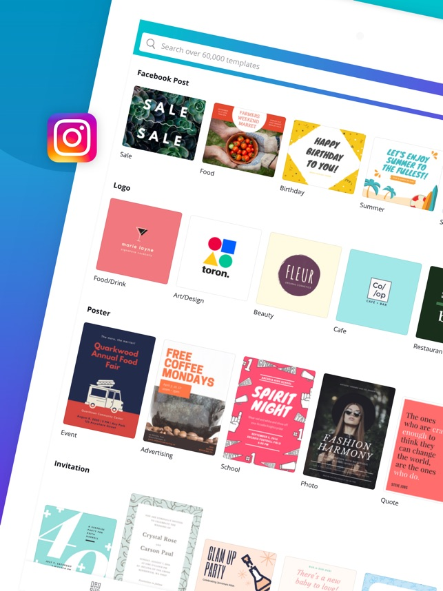 canva graphic design creator on the app store