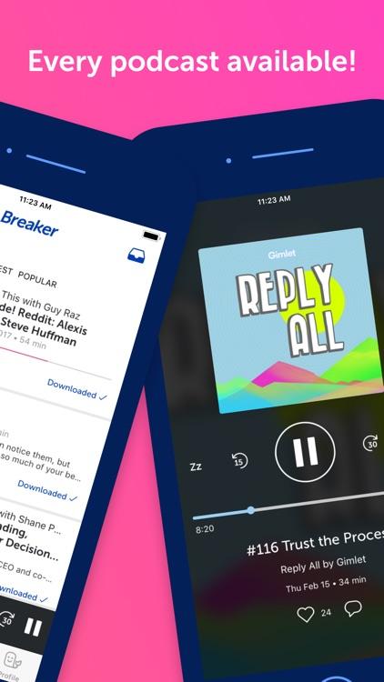 Breaker—The social podcast app