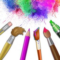 Drawing Desk Doodle Paint Art