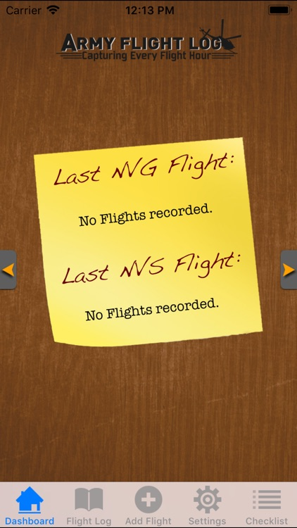 Army Flight Log screenshot-2