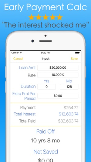 student loans calculator debt payoff tracker vue on the app store