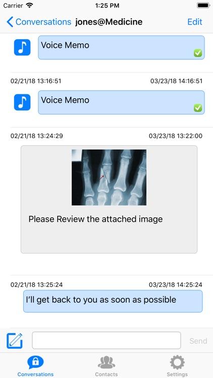 Startel Secure Messaging Plus screenshot-3