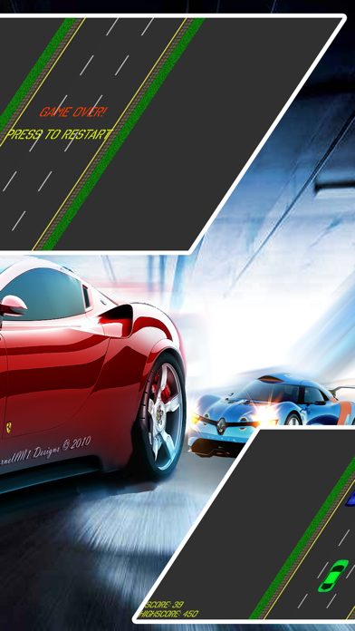 点击获取2D Infinite Car Racing