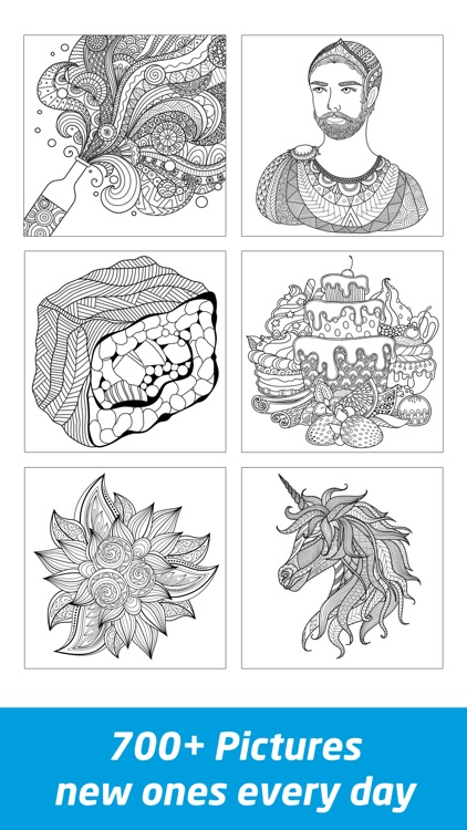 Coloring Book Pages for Adults screenshot-1