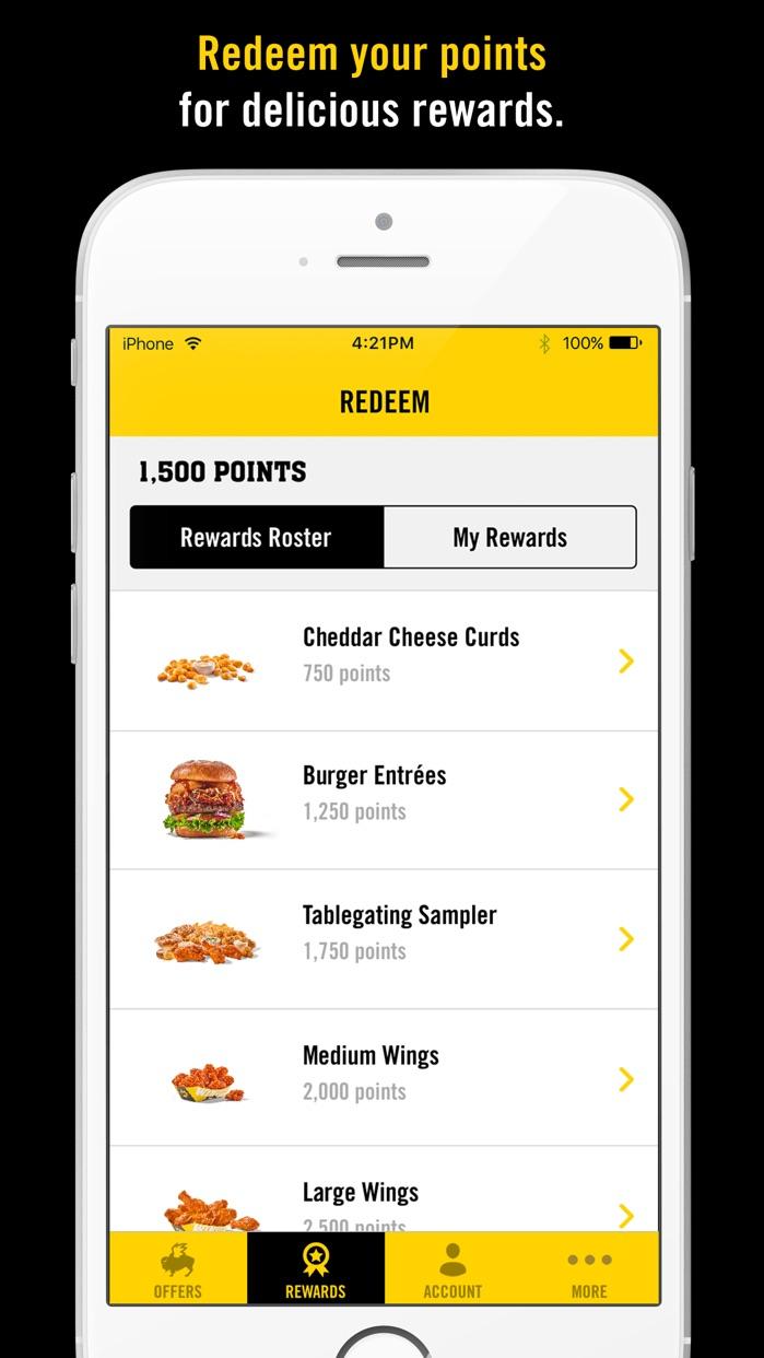 Blazin' Rewards Screenshot