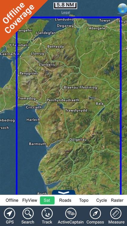 Snowdonia National Park - GPS Map Navigator screenshot-4