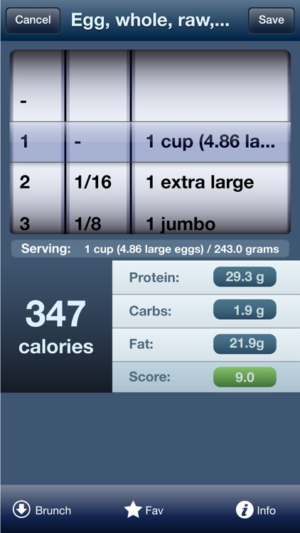 Tap & Track Calorie Counter screenshot-3