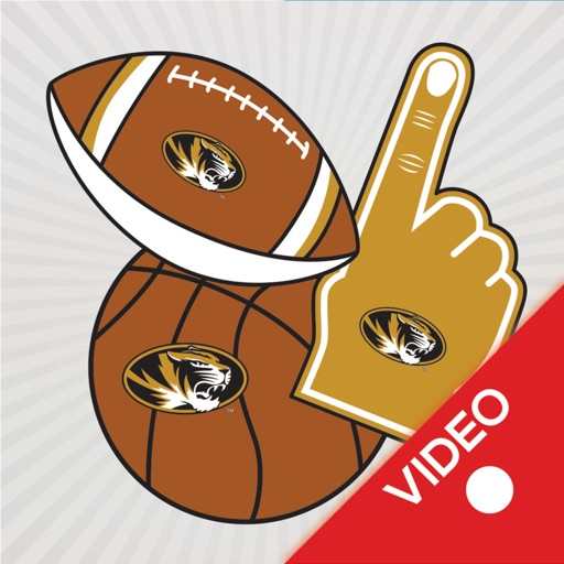 Missouri Tigers Animated Selfie Stickers