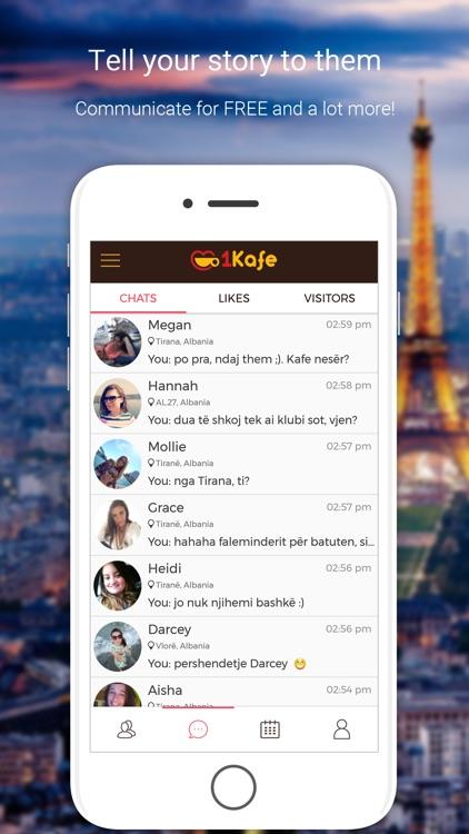 1Kafe - Albanian Dating screenshot-4